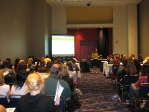 Elizabeth presenting at National CEO Conference