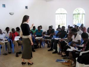 Elizabeth in Africa