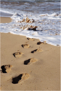 BeachFootPrints